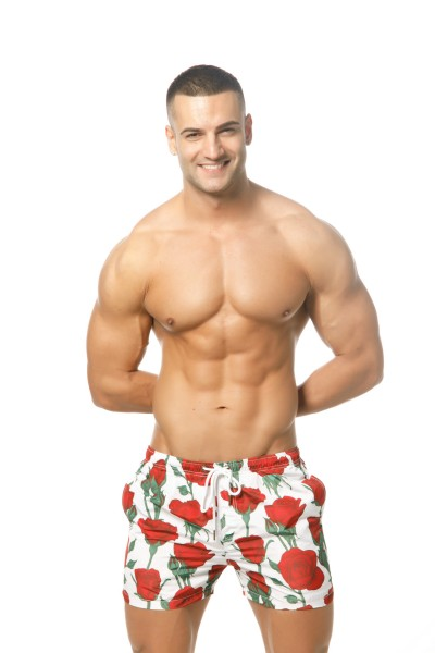 Amour Shorts Red
